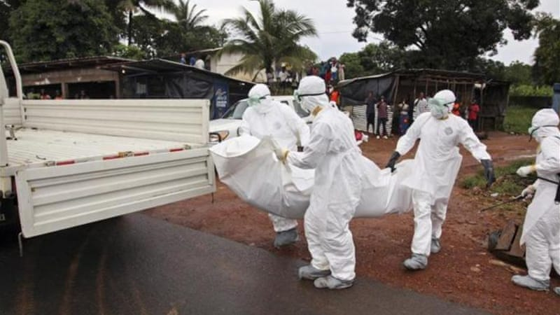 Ebola has killed 413 people in Liberia [EPA]