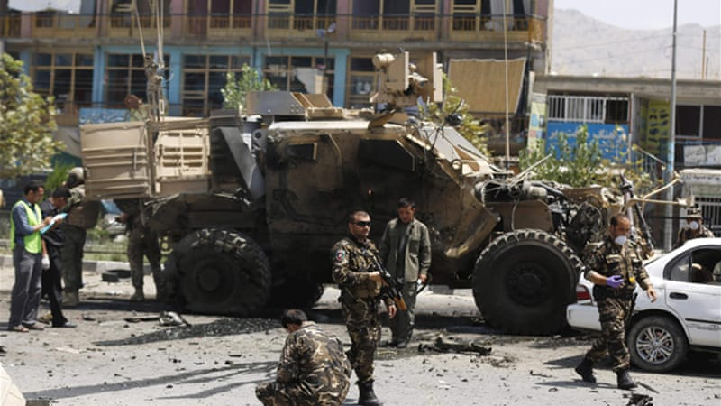 The Taliban claimed responsibility for the attack in Kabul [Reuters]