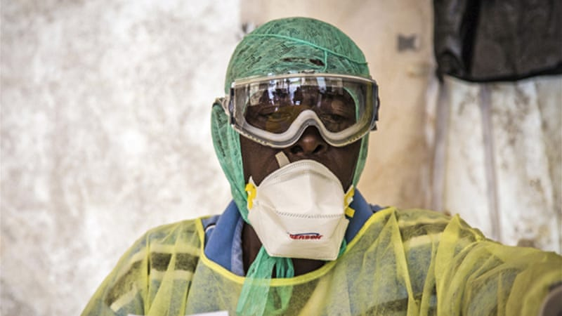 Ebola is one of the world's most deadly diseases and kills the majority of those infected [AP]
