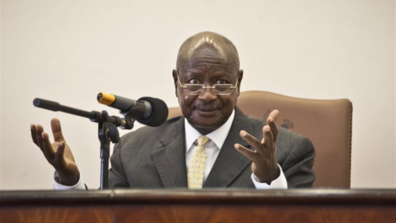 President Museveni has ordered an investigation into the missing ivory [AP]