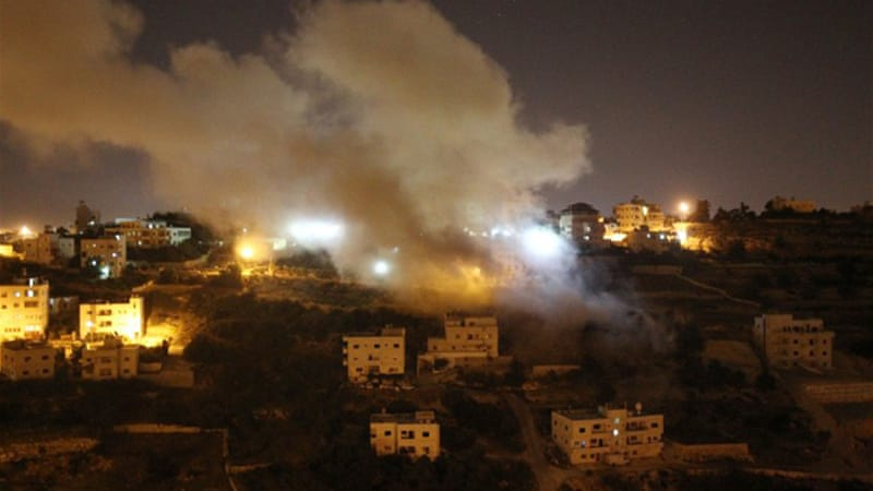 The raids reportedly triggered clashes between Israeli soldiers and locals. [AFP]