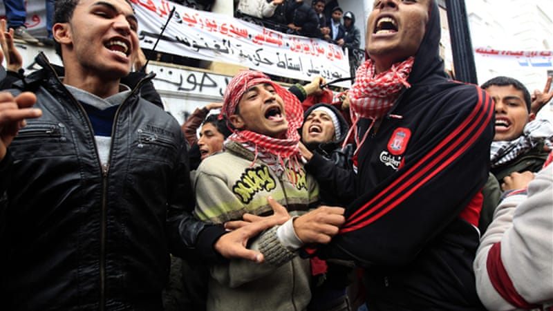 Tunisians from the country's marginalised interior areas played a large role in Tunisia's 2011 revolution [Reuters]