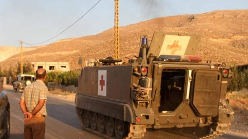 Two soldiers were kidnapped earlier at the Wadi Hmeid post, but were later freed by the army [AFP]