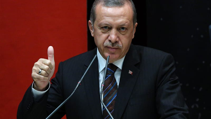 Analysts say President-elect Recep Tayyip Erdogan will pass constitutional amendments to strengthen the post [AP]