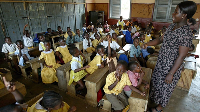 Critics say that Malawi teachers are not well-equipped to provide good English skills [EPA]