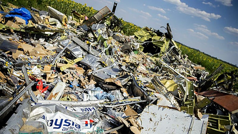 Access to the MH17 crash site in eastern Ukraine has been hampered as it is in a conflict zone [EPA]