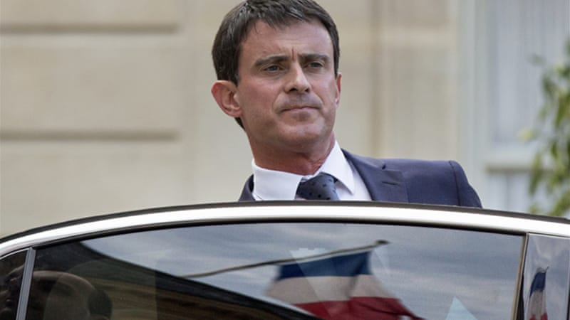 Manuel Valls was asked to form a new government by Tuesday [EPA]