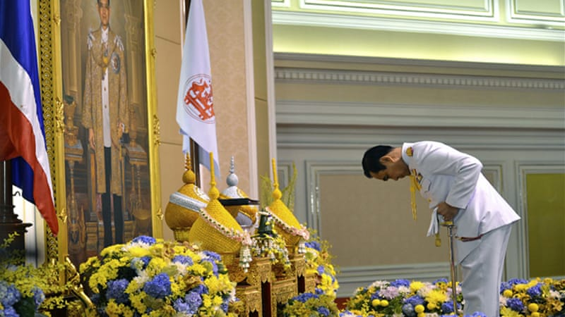 Prayuth was named prime minister by 191 out of 197 members of the military-dominated assembly [EPA]