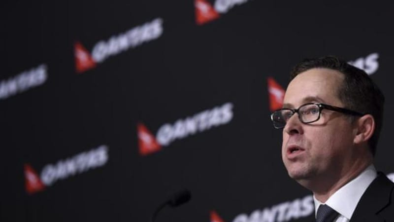 High fuel costs, a strong Australian dollar, rising global competition and a domestic price war have hit Qantas [EPA]