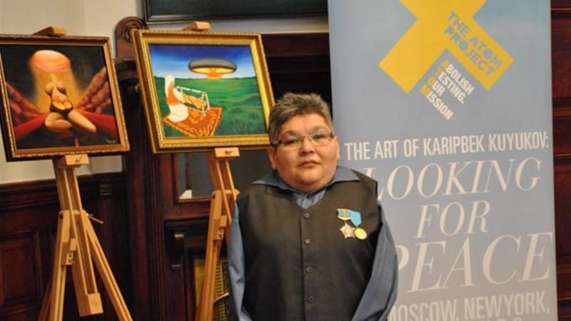 Karipbek Kuyukov was born 100 kilometres from the Semipalatinsk nuclear test site in Kazakhstan [The Astana Times]