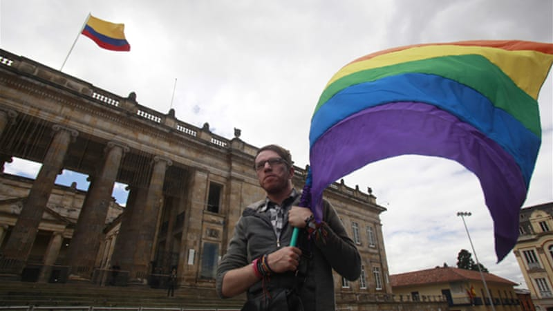 Colombia and other parts of Latin America have seen a rise in the number of gay-friendly rulings [Reuters]