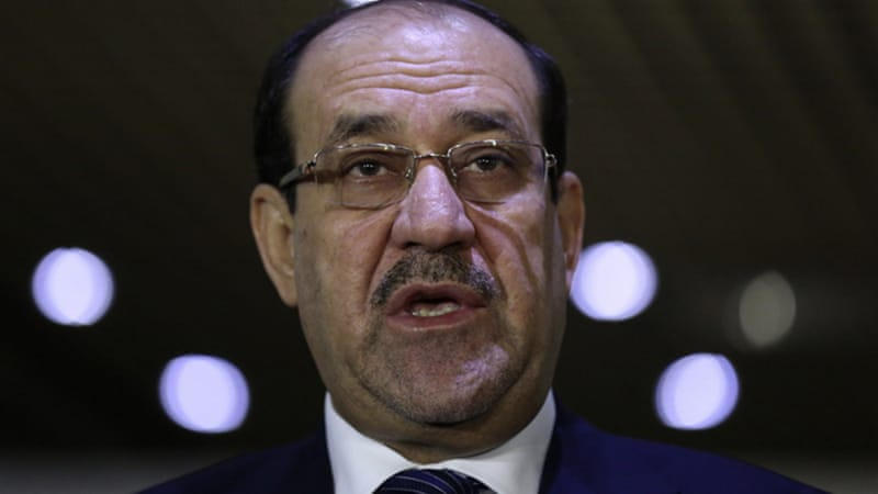 Maliki's government recalled its ambassador, demanding clarification on the Jordan meeting [Reuters]