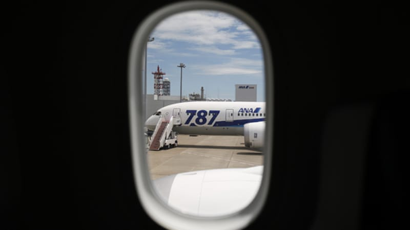 The Boeing 787 was released years behind schedule [Reuters]