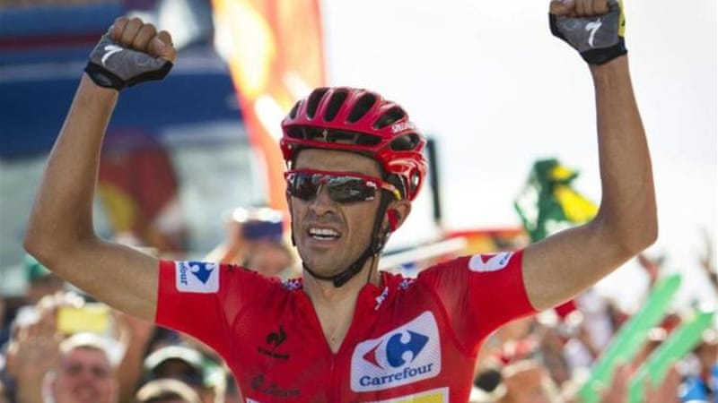 Contador won his sixth grand tour title at the Vuelta [AFP]