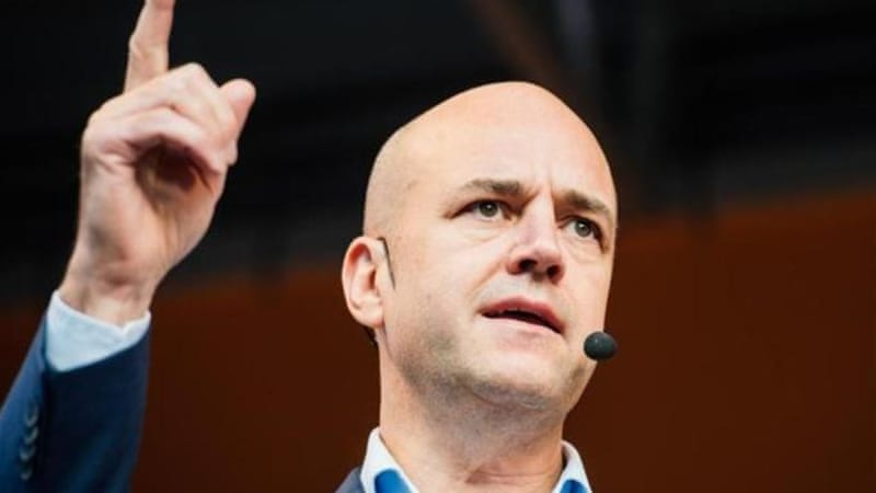Reinfeldt's centre-right coalition government has cut income and corporate taxes and abolished a wealth tax [AFP]