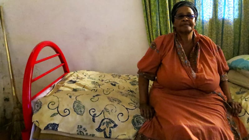 Gladys Maphumulo spent five decades waiting for the repatriation of her brother Nakasa [Ryan Brown/Al Jazeera]
