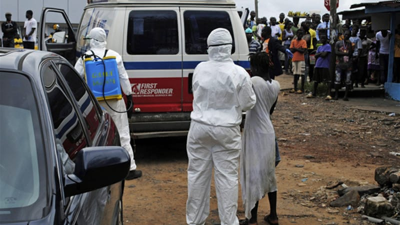 Ebola has killed more than 2,400 but that figure pales into insignificance beside the number killed by malaria [Reuters]