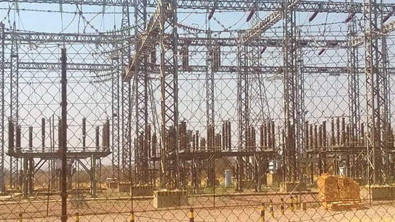 A Chinese-contracted power supply expansion project is accused of poor workmanship [Thapelo Ndlovu/Al Jazeera]