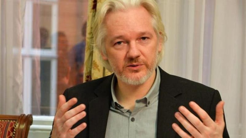 Assange fears extradition to Sweden could be a pretext for him to be transferred to the US [EPA]