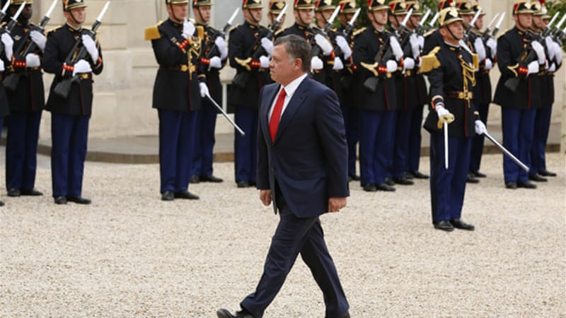 Jordan's King Abdullah said his country was committed to participating in the war against ISIL [Reuters]