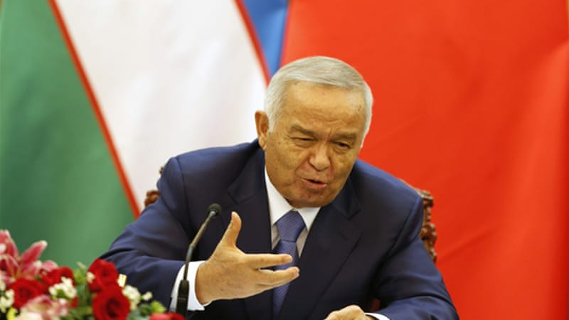 Uzbekistan's President Islam Karimov tolerates no dissent in the ex-Soviet state of 30 million people [Getty Images]