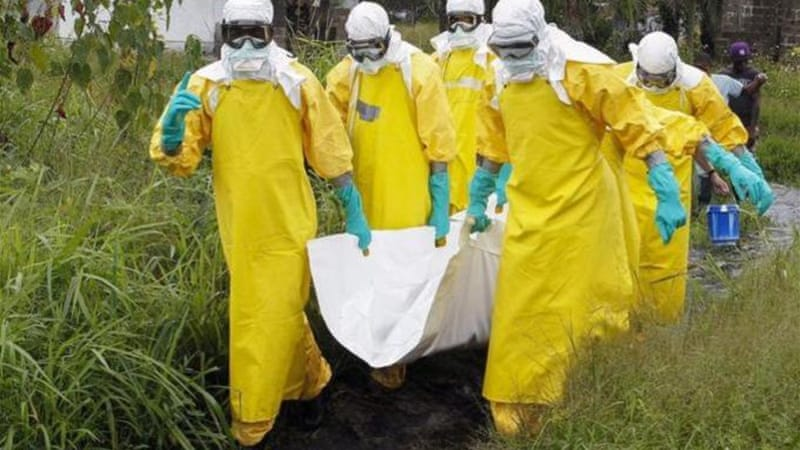 Nearly 3,500 people in Liberia have caught Ebola, with 1,830 dying of the disease [EPA]