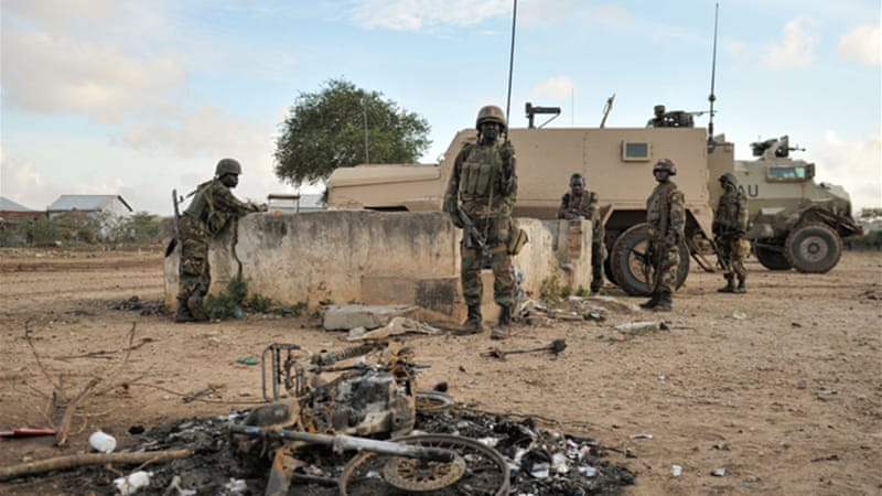 Foreign troops and the Somali army are locked in a life-and-death struggle against al-Shabab [AFP]