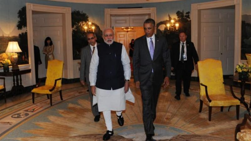 The US-India relationship is being built on something more solid than the sand of shifting world events [Getty]