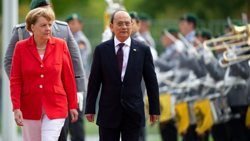 Thein Sein's government has been accused of failing to stem two years of sporadic anti-Muslim violence [EPA]
