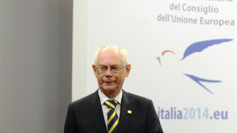 "In the EU's Nobel Peace Prize acceptance speech, President of the European Council Van Rompuy said, ""symbolic gestures alone cannot cement peace"" [Reuters]"