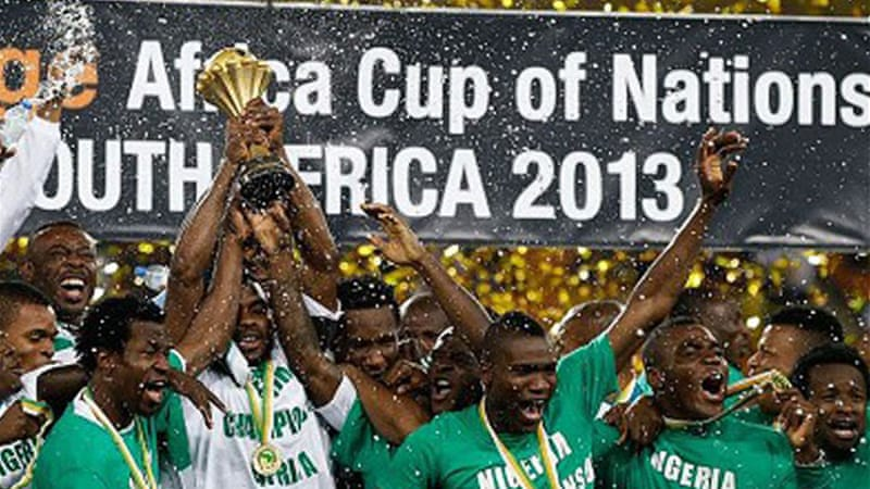 Nigeria won the Africa Cup of Nations in 2013, 1994 and 1980, and were finalists in 2000, 1990, 1988 and 1984 [AP]