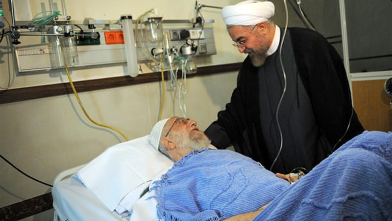 Media reports on the state of health of Iran's top leader are rare [AFP]