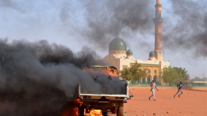 New protests broke out in Niamey after at least four people were killed in demonstrations in Zinder [AFP]