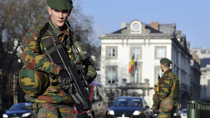 Belgium foiled a major attack in the country's east and has since deployed troops in Brussels and Antwerp [Reuters]