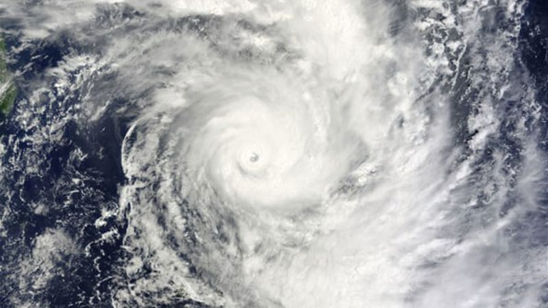 Bansi one of the strongest storms ever recorded in the southern Indian Ocean [AFP PHOTO/Handout/NASA]