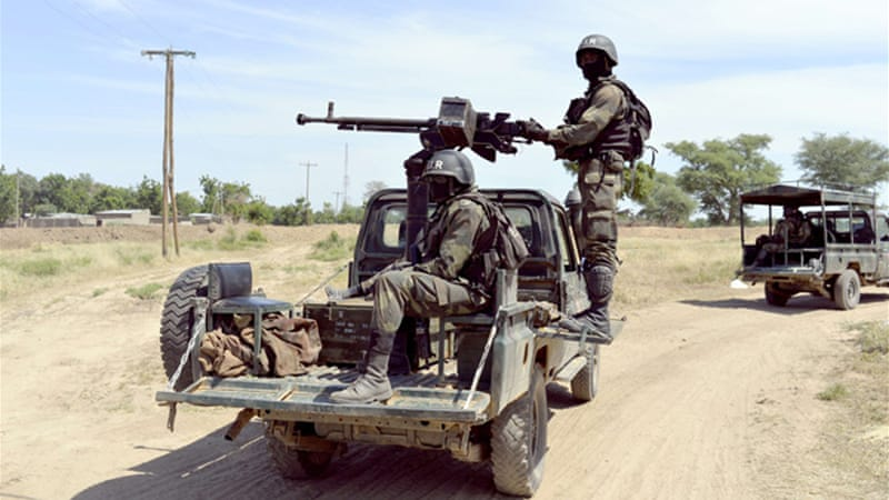 Cameroonian soldiers have freed dozens of civilians recently abducted by Boko Haram in Cameroon [AFP]