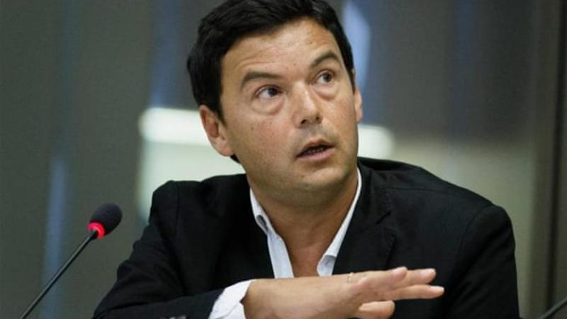 Once close to France's ruling Socialist party, Piketty has become very critical of President Francois Hollande [EPA]