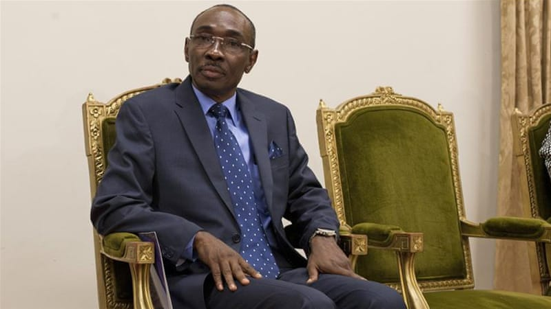 Haiti''s new Prime Minister Evans Paul attends the swearing-in ceremony of new Cabinet members at the National Palace in Port-au-Prince, Haiti, Monday, Jan. 19, 2015. Ministers and secretaries of stat