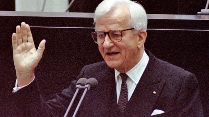 Weizsaecker also served as the mayor of West Berlin in the 1980s [File: Reuters]