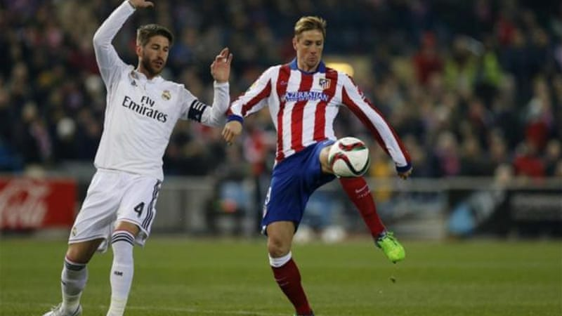 Torres found no way through Real's defence on Wednesday but his coach says he needs time [AP]