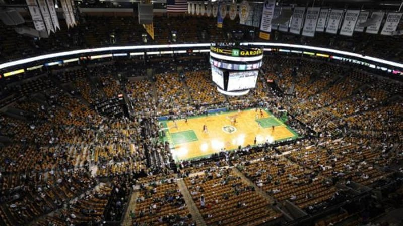 TD Garden, home of the Boston Celtics, could be a venue for basketball at the 2024 Olympics [EPA]
