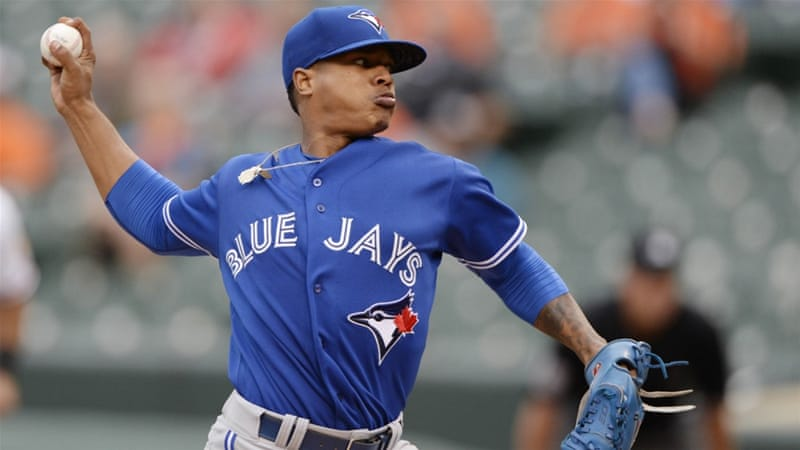Stroman helped Toronto win their sixth successive game [Tommy Gilligan-USA TODAY Sports]