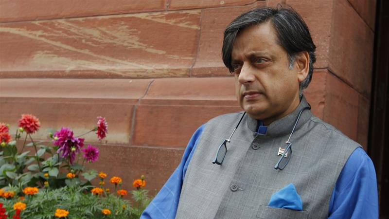 Tharoor has pledged to contest the 'preposterous' charges 'vigorously' [Arvind Yadav/Getty Images]