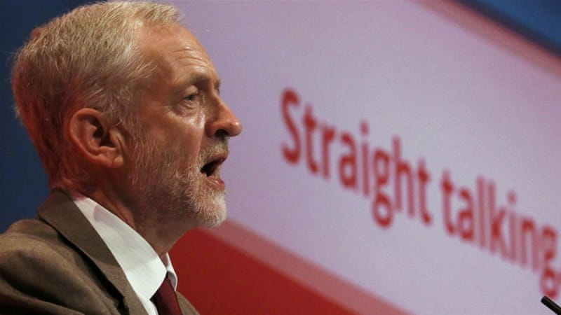 At a time when the British public is cynical over recent interventions, Corbyn's message is highly resonant, writes Shabi [Reuters]