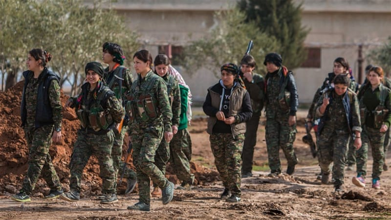 Report: Syrian Kurdish forces razed Arab villages