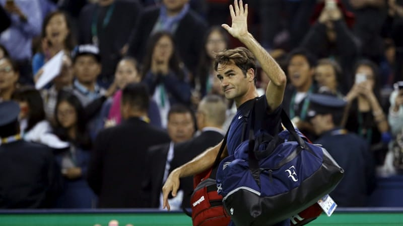 Defending champion Federer shocked at Shanghai Masters