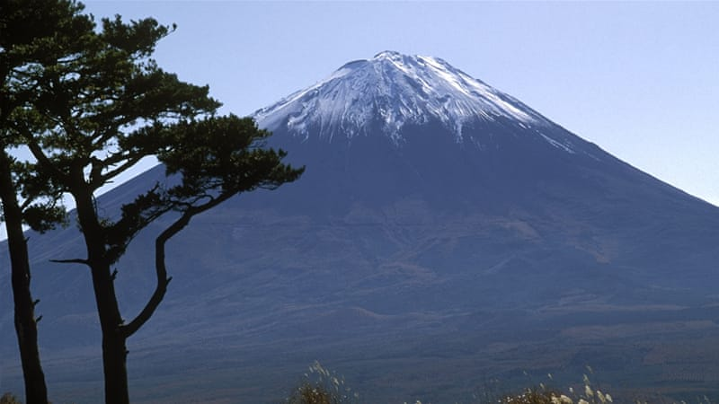 Mount Fuji, a World Heritage site in Japan [Getty]