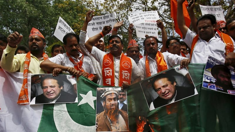 Apart from sports, Shiv Sena has in the past protested against having any sort of dealings with Pakistan [Reuters]