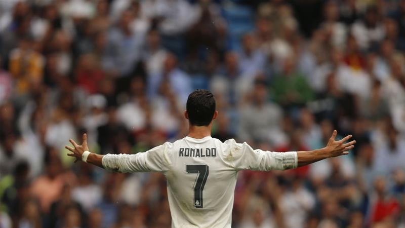 Ronaldo is Real Madrid's record scorer with 324 goals [AP]