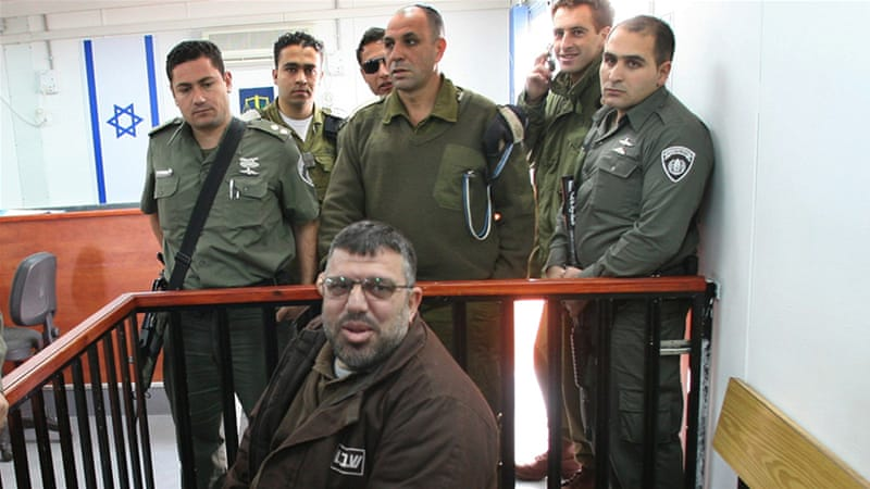 Israeli authorities have arrested Hassan Yusef, here pictured in 2006, several times in the past [Reuters]